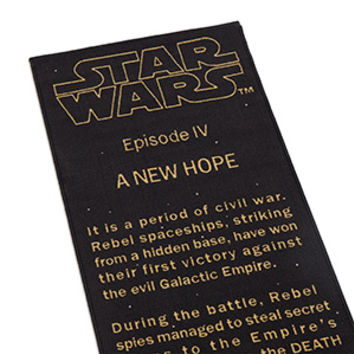 Star Wars: A New Hope Title Crawl Floor Runner