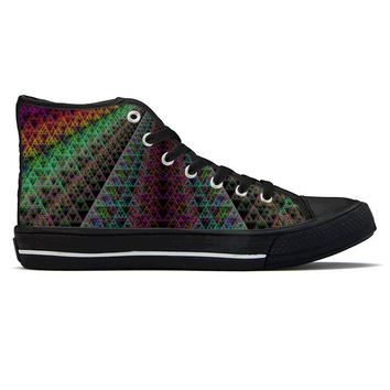 Spectra by Sam and Cate Farrand - High Top Canvas Shoes