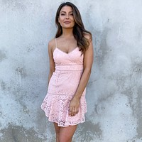 Declared Love Floral Lace Dress
