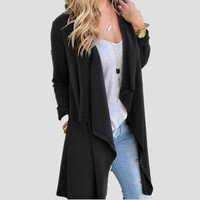 Irregular Winter Long Sleeve Jacket [37753421850]
