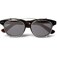 Illesteva Lenox Detachable Front Square-Frame Sunglasses | MR PORTER