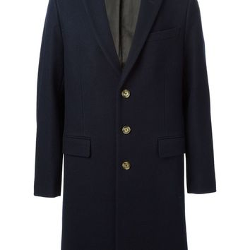 Ami Alexandre Mattiussi single breasted overcoat