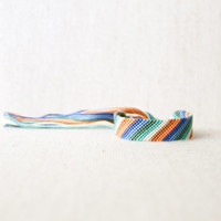 Geometric Striped Multicolored Friendship Bracelet Stripes