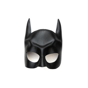 Batman leather mask for children and adults Bat Half Mask Gift Super hero Halloween Costume Masquerade Carnival Party Superheroes Cosplay