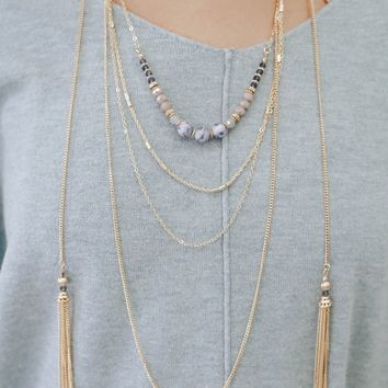 Indigo Influence Necklace