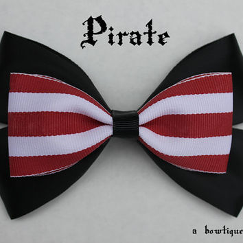 pirate hair bow