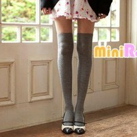 YESSTYLE: Angel Love- Cable-Knit Pattern Stockings - Free International Shipping on orders over $150