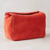 Tate Suede Box Pouch