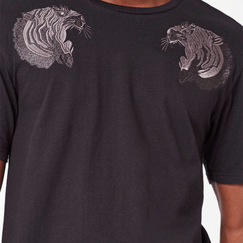 PacSun Stilbon Embroidered Tigers T-Shirt at PacSun.com