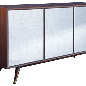 "Credenza Verve Lautner 68"" Widescreen, Buffets & Sideboards"