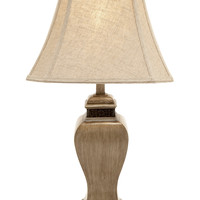 Classy And Creative Polystone Table Lamp