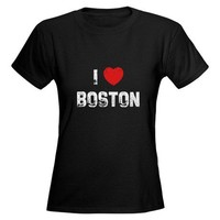 I * Boston Tee on CafePress.com