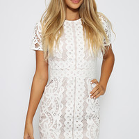 Tijana Dress - White