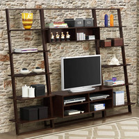 4D Concepts Arlington Bookcase with Entertainment Center