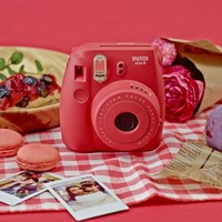 Fujifilm Instax Mini 8 Instant Film Camera Raspberry