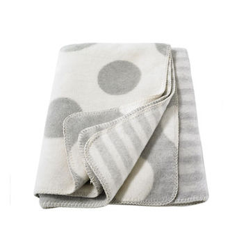 David Fussenegger Dots Throw Blanket | giggle