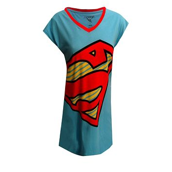 DC Comics SuperGirl Logo Nightshirt for women One-Size