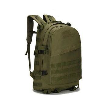 ONETOW ASDS 40L Military Trekking Tactical Women Backpack Bag Military backpack sport bags Men backpack Hiking Three sand camouflage