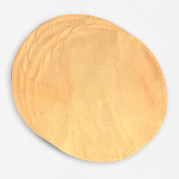 JW Gold Round Placemats