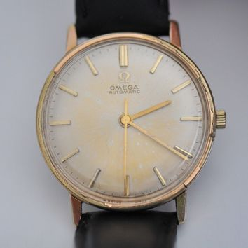 Omega Automatic gold plated watch vintage caliber 552 case 161.009