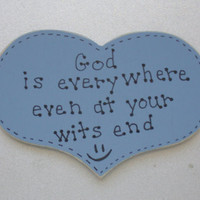 God is Everywhere Christian/Inspirational Magnet