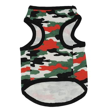 dog clothes for small dogs winter puppy chihuahua Camouflage  pet clothes for small dog roupa para cachorro