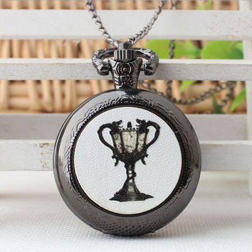 Holy Grail Pocket Watch Necklace