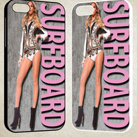 Beyonce Surfboard F0305 iPhone 4S 5S 5C 6 6Plus, iPod 4 5, LG G2 G3, Sony Z2 Case