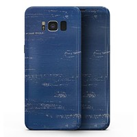 Blue and White Chipped Paint - Samsung Galaxy S8 Full-Body Skin Kit