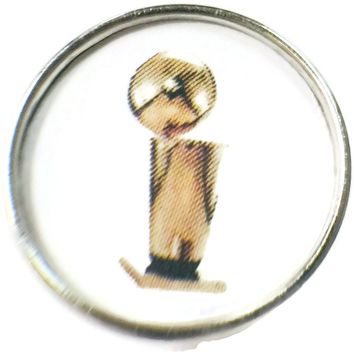 NBA Basketball Trophy 18MM - 20MM Fashion Snap Jewelry Snap Charm New Item