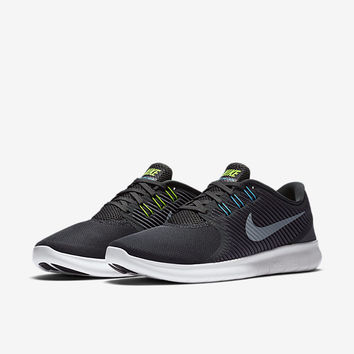 nike free run commuter womens black