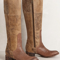 Etched Wrangler Boots