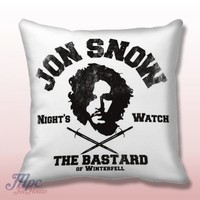 Jon Snow Night Watch Game of Thrones Pillow Cover – MPCTeeHouse
