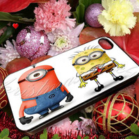 despicable me minion squarepants spongebob - for iPhone 4/4s, iPhone 5/5s/5c, Samsung S3 i9300, Samsung S4 i9500 Hard Case