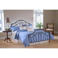 1544-500 Josephine Bed Set - Queen - Rails not included