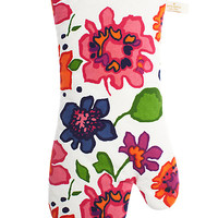Kate Spade Festive Floral Printed Oven Mitt Multi ONE