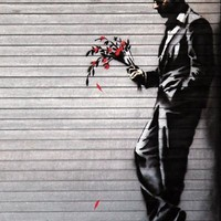 Wither Banksy Art Print