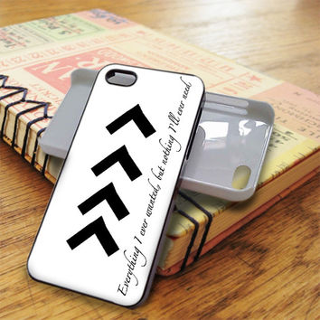 Liam One Direction Arm Tattoos Quotes iPhone 5C Case