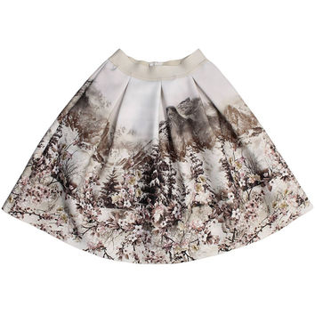 Monnalisa Jakioo - Girls Gonna Mountain Neoprene Skirt