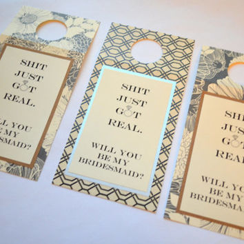Funny bottle tags Bridesmaid wine tags Thank you wine tags Funny wine bottle tags bitch for a day bottle tag thank you gift tag alcohol tag