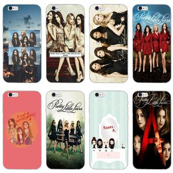 Pretty Little Liars silicone Soft phone case For LG G2 G3 mini spirit G4 G5 G6 K4 K7 K8 K10 2017 V10 V20