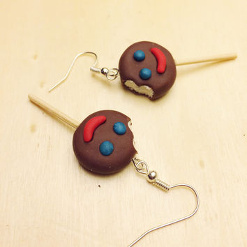 Paleta Payaso Polymer Clay Earrings
