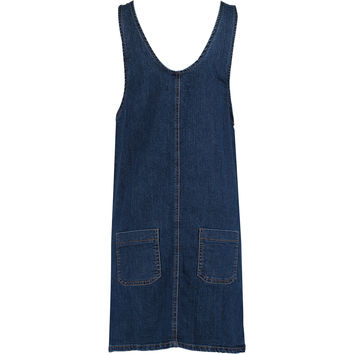 Blue Denim Pinafore Dress - Jumpsuits & Playsuits - Clothing - Women - TK Maxx