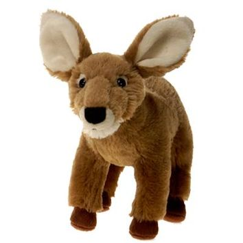 "9"" Mule Deer Fawn Stuffed Animal Plush Floppy Zoo Species Collection"