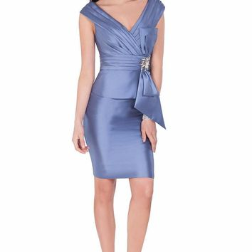 Terani Couture - Origami Evening Dress with Bow 1623C1401