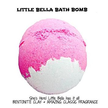 Sale! NEW RELEASE! Little Bella By Soapie Shoppe 6-7 Oz. Bath Bomb Made with Bentonite Clay, Coconut Oil, and an AMAZING CLASSIC SCENT. Soapie Shoppe has a 100% guarentee on all of our Bath Bombs.