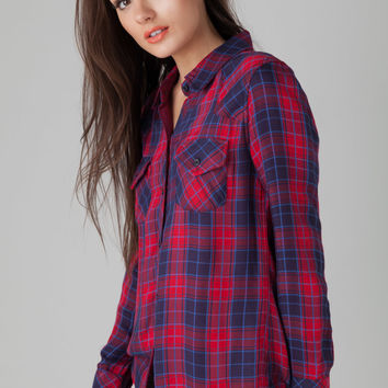 Rails Kendra Plaid Shirt in Candy Apple