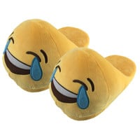 Adult Emoji Cartoon Slippers