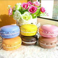 New Kawaii Soft Dessert Macaron Squishy Cute Cell phone Charms Key Straps