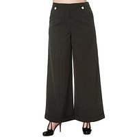 Banned Vintage Retro 50's High Waist Wide Leg Pinstripe Pants